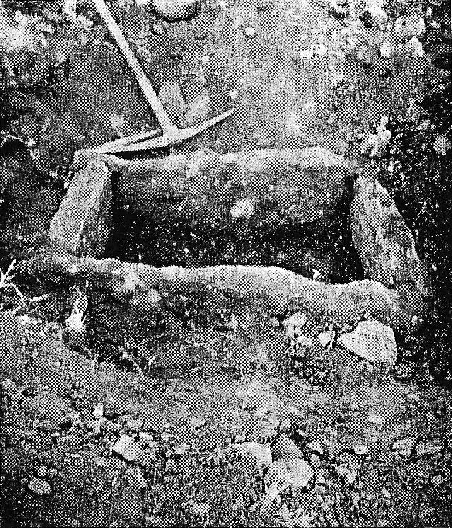 Uma das cistas da Idade do Bronze da necrópole de Alcaria