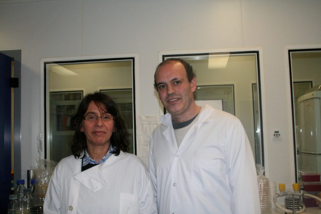 Paula Morais, coordenadora e Pedro Farias, primeiro autor do artigo