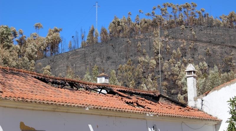 Monchique: Metade das casas ardidas poderão não ser reconstruídas