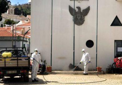 Monchique implementa Plano de Desinfeção e Higienização de espaços públicos e contentores