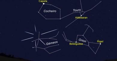 9_Figura 2 - O céu virado a Este às 20h00 do dia 14 de dezembro